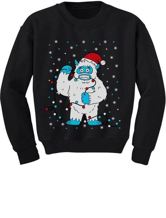 Christmas Monster Sweatshirt AZ26