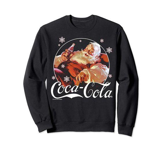 Coca-Cola Santa Christmas Sweatshirt EL28