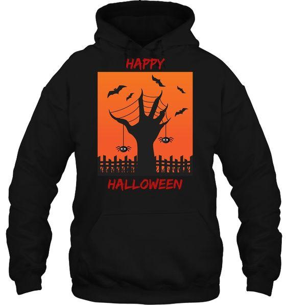 Creepy Hand Halloween Hoodie SR01