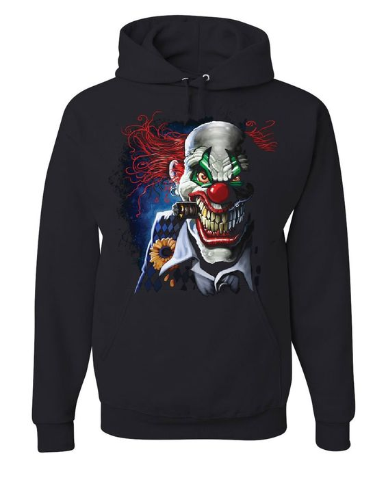Creepy Joker Clown Hoodie FD01
