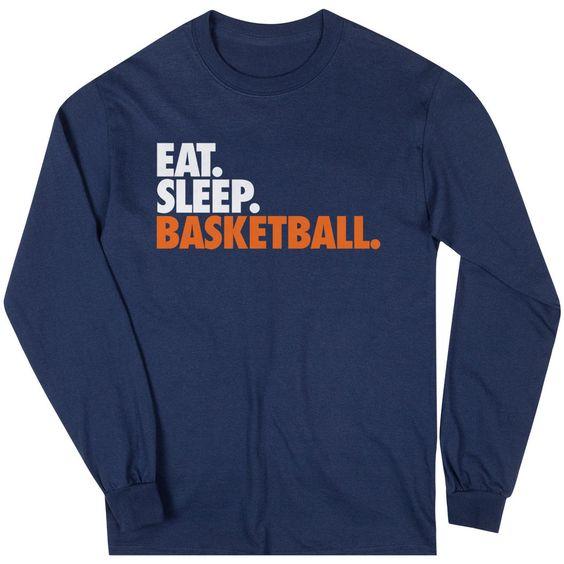 Eat Sleep Basketball Sweatshirt DV01