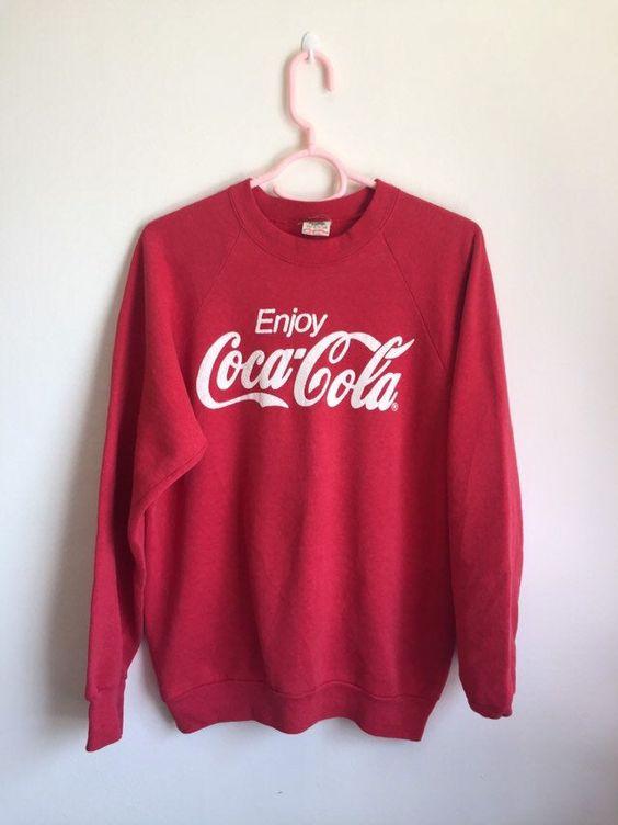 Enjoy Coca Cola Sweatshirt EL28