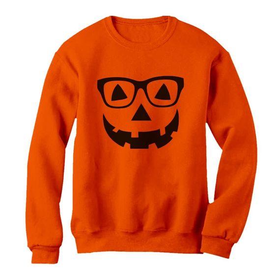 Face Halloween Sweatshirt SR01