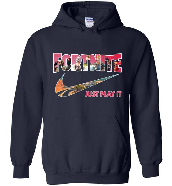 Fortnite Just Play It Hoodie EL01
