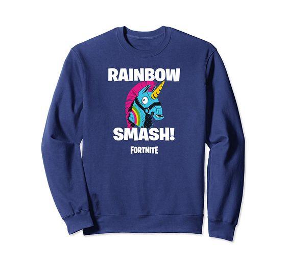 Fortnite Rainbow Smash Sweatshirt EL01