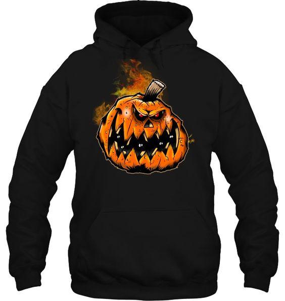 Halloween Scary Pumpkin Hoodie SR01