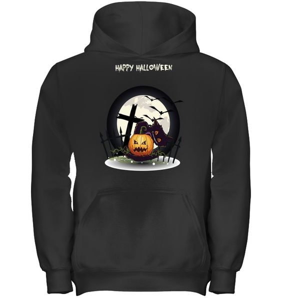 Happy Halloween Funny Hoodie SR01