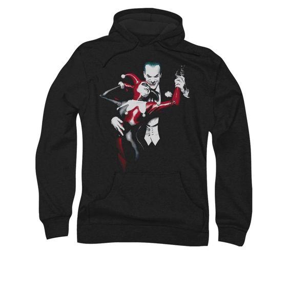 Harley Quinn The Joker Hoodie FD01Harley Quinn The Joker Hoodie FD01