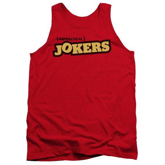 Impractical Jokers Red Tanktop FD01