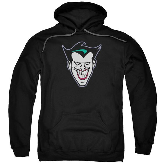 Joker Face Adult Hoodie FD01