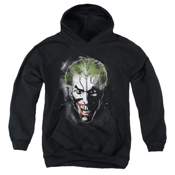 Joker Face Makeup Black Hoodie FD01