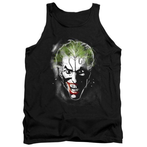 Joker Face Makeup Black Tanktop FD01