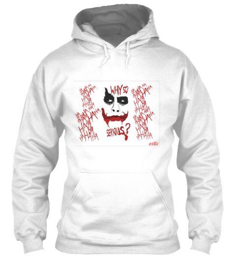 Joker Why So Serious Hoodie FD01