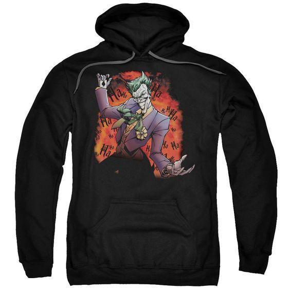 Joker'S Ave Adult Pull Over Hoodie FD01