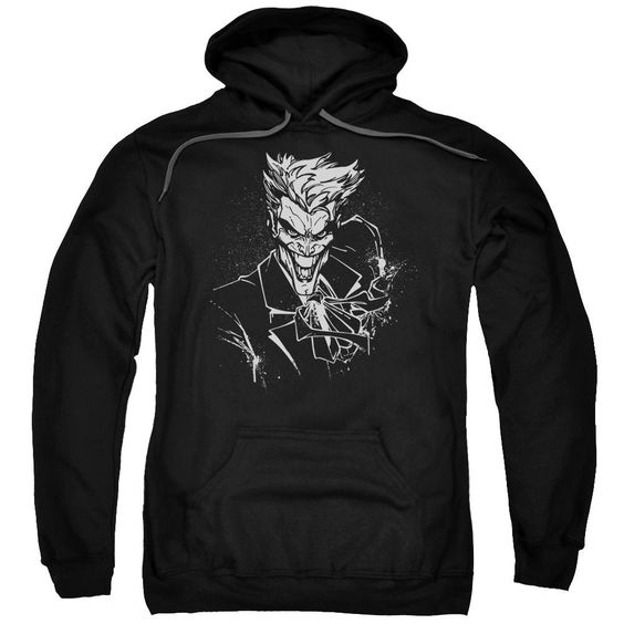 Joker'S Splatter Smile Mens Pullover Hoodie FD01