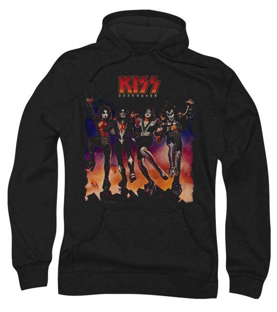 Kiss Band Hoodie FD01