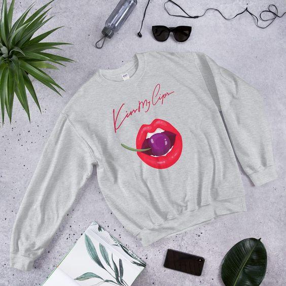 Kiss My Lips Sweatshirt ER01