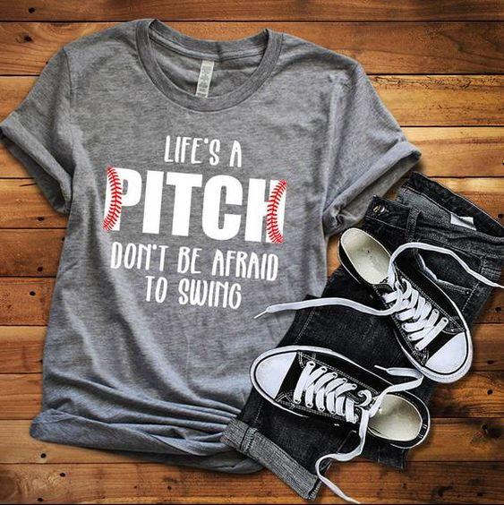 Life' a Pitch T-Shirt VL01