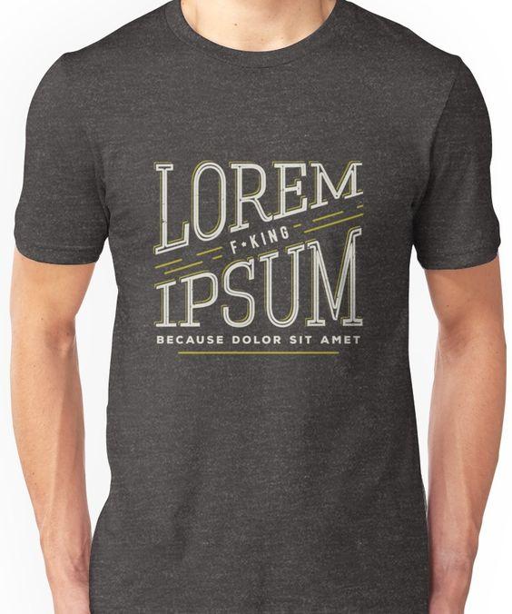 Lorem Ipsum T-Shirt VL01