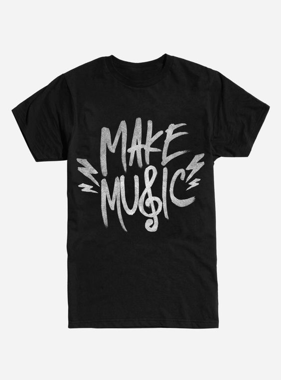 Make Music T-Shirt EM01