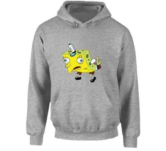 Mocking Spongebob Hoodie DV01