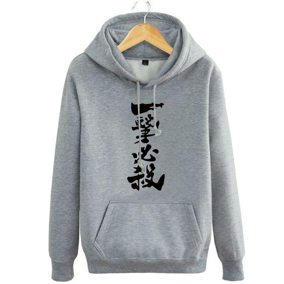 One Punch Man Japanese Figure Hoodie DV01