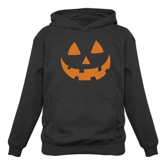 Pumpkin Face Hoodie SR01