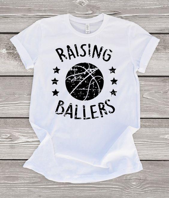 Raising Ballers Basketball T-Shirt EM01