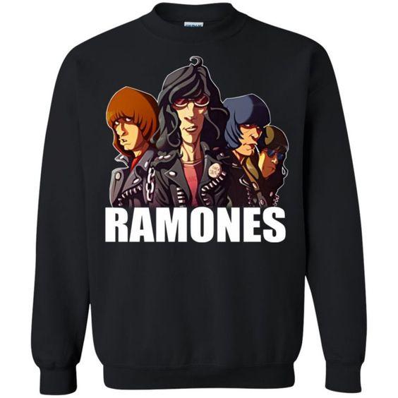 Rock Band Ramones Sweatshirt FD01