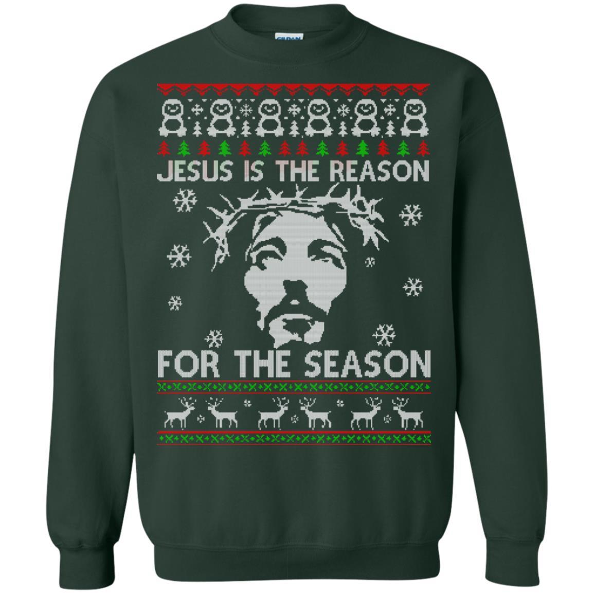 Sketch Of Jesus Sweatshirt SR
