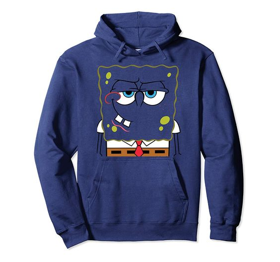 SpongeBob SquarePant Blue Hoodie DV01
