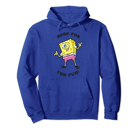 SpongeBob winking the fun Hoodie DV01