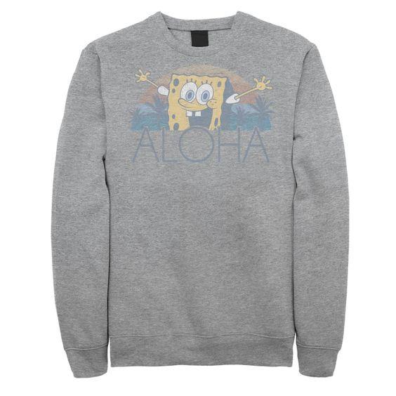 Spongebob Aloha Sweatshirt DV01