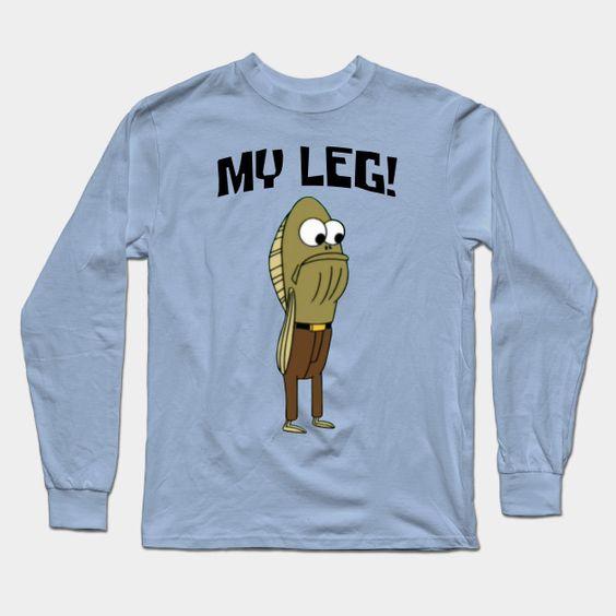 Spongebob Fred The Fish Sweatshirt DV01