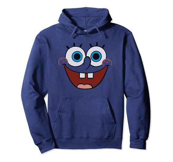 Spongebob Happy Face Pullover Hoodie DV01