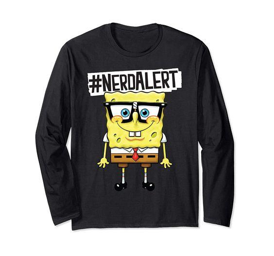 Spongebob Nerdalert Sweatshirt DV01