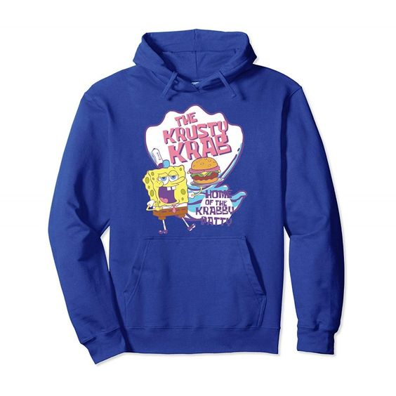 Spongebob Pastel Krusty Krab Hoodie DV01