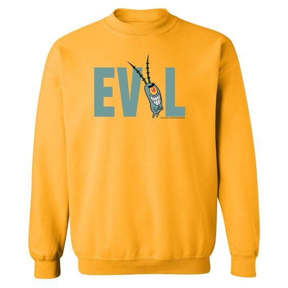Spongebob Plankton Evil Sweatshirt DV01