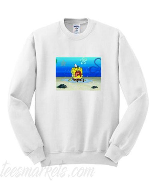 Spongebob Sad Rip Stephen Sweatshirt DV01