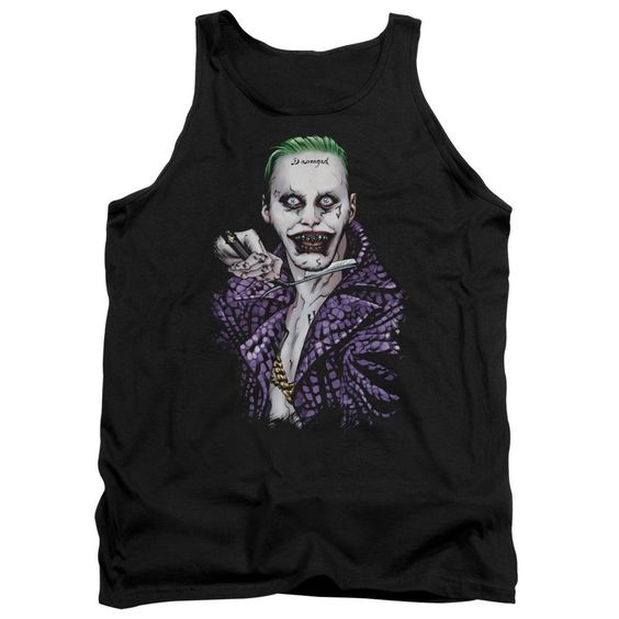 Suicide Squad Blade Adult Tank Top Fd01