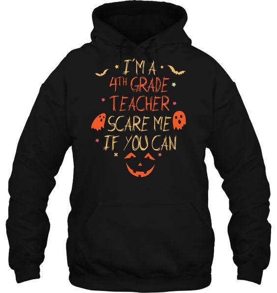Teacher Halloween Hoodie SR01