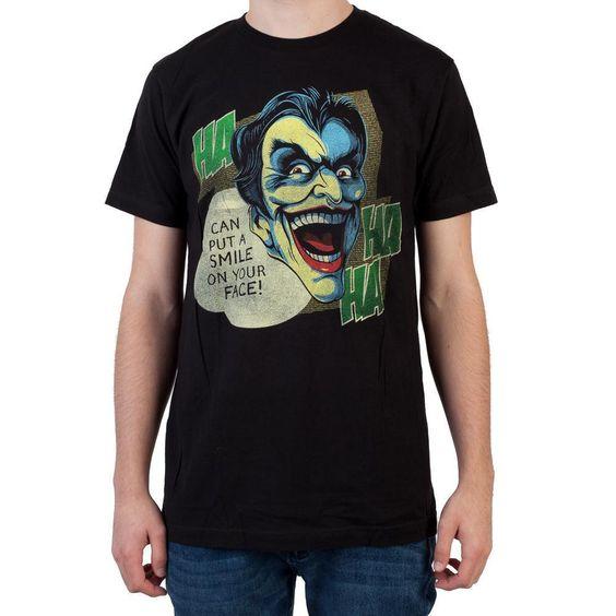The Joker Black Men T-Shirt FD01