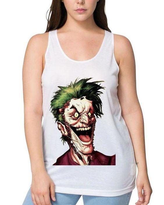 The Joker Head Tank top FD01