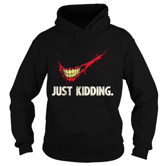 The Joker Just kidding hoodie FD01