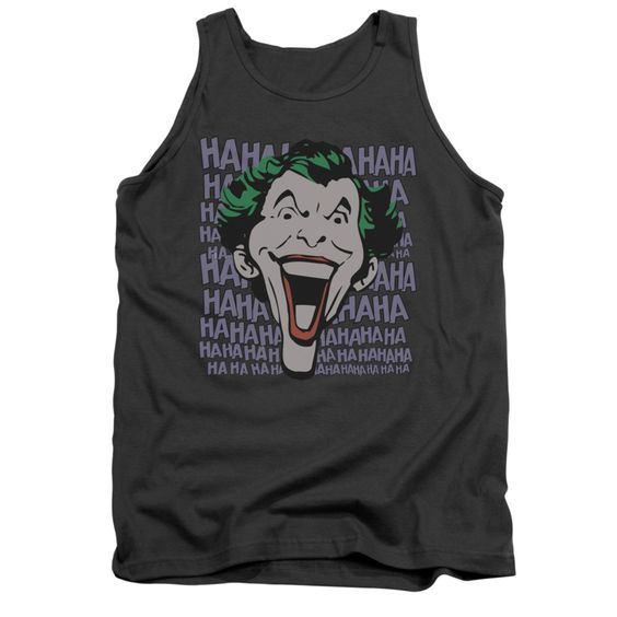 The joker ha ha haaa charcoal tanktop FD01
