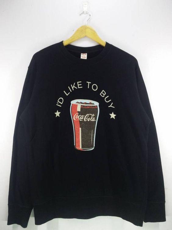 Uniqlo Coca Cola Sweatshirt EL28