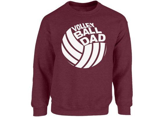 Volleyball Dad Long Sweatshirt DV01