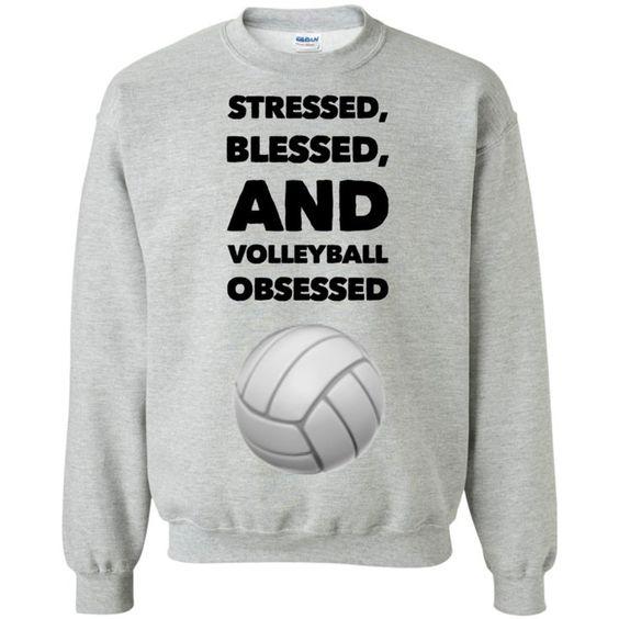 Volleyball Obsessed Sweatshirt DV01