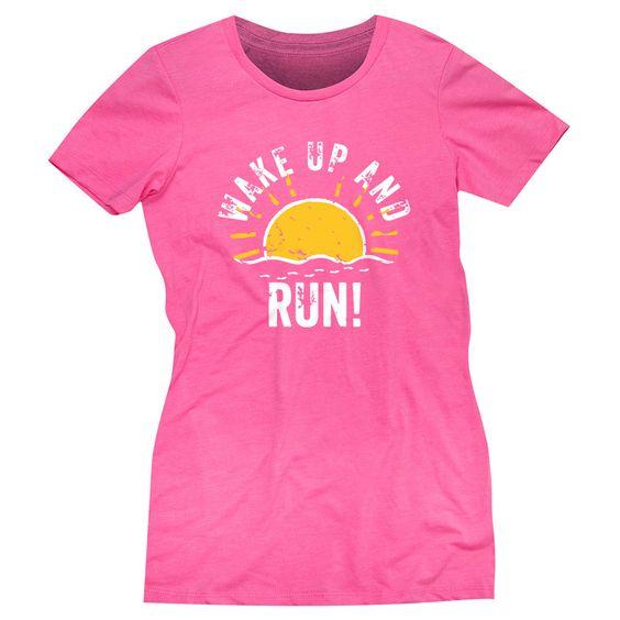 Wake Up And Run T-Shirt EL