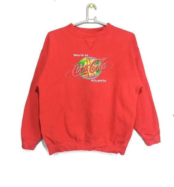 World Of Coca Cola Sweatshirt EL28